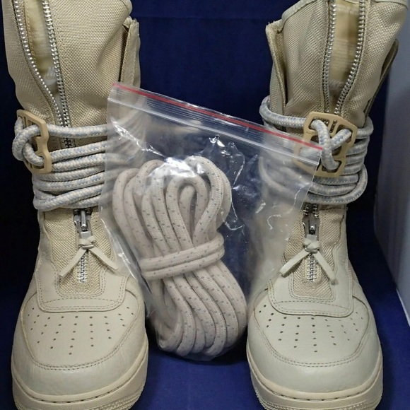 Nike SF AF1 High Special Field Rattan Tan Boots AA1128-200